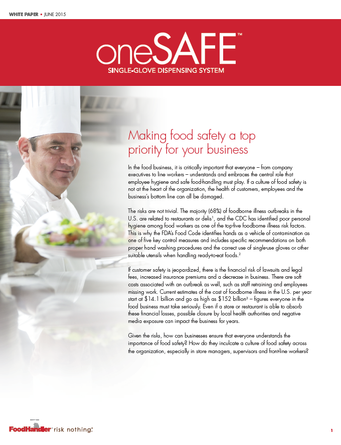 Foodservice White Paper